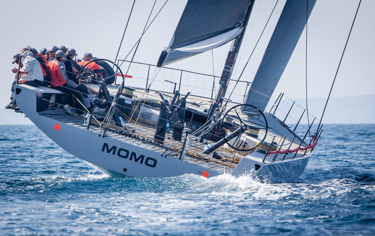 Maxi 72 MOMO  training in Palma, March 13th 2015, ©jesusrenedo